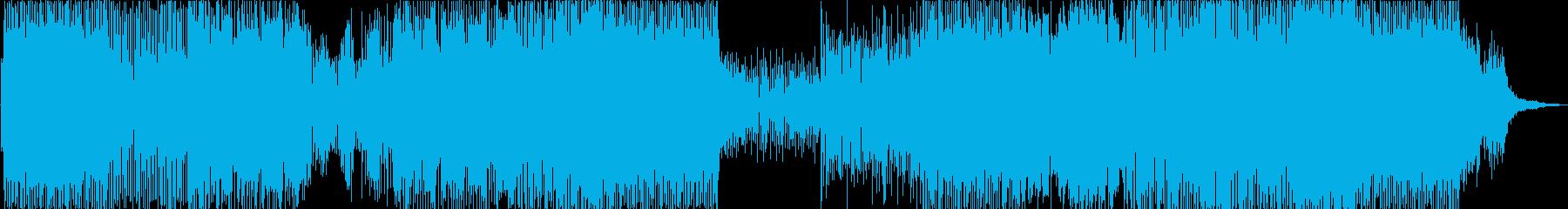 幽霊船の再生済みの波形
