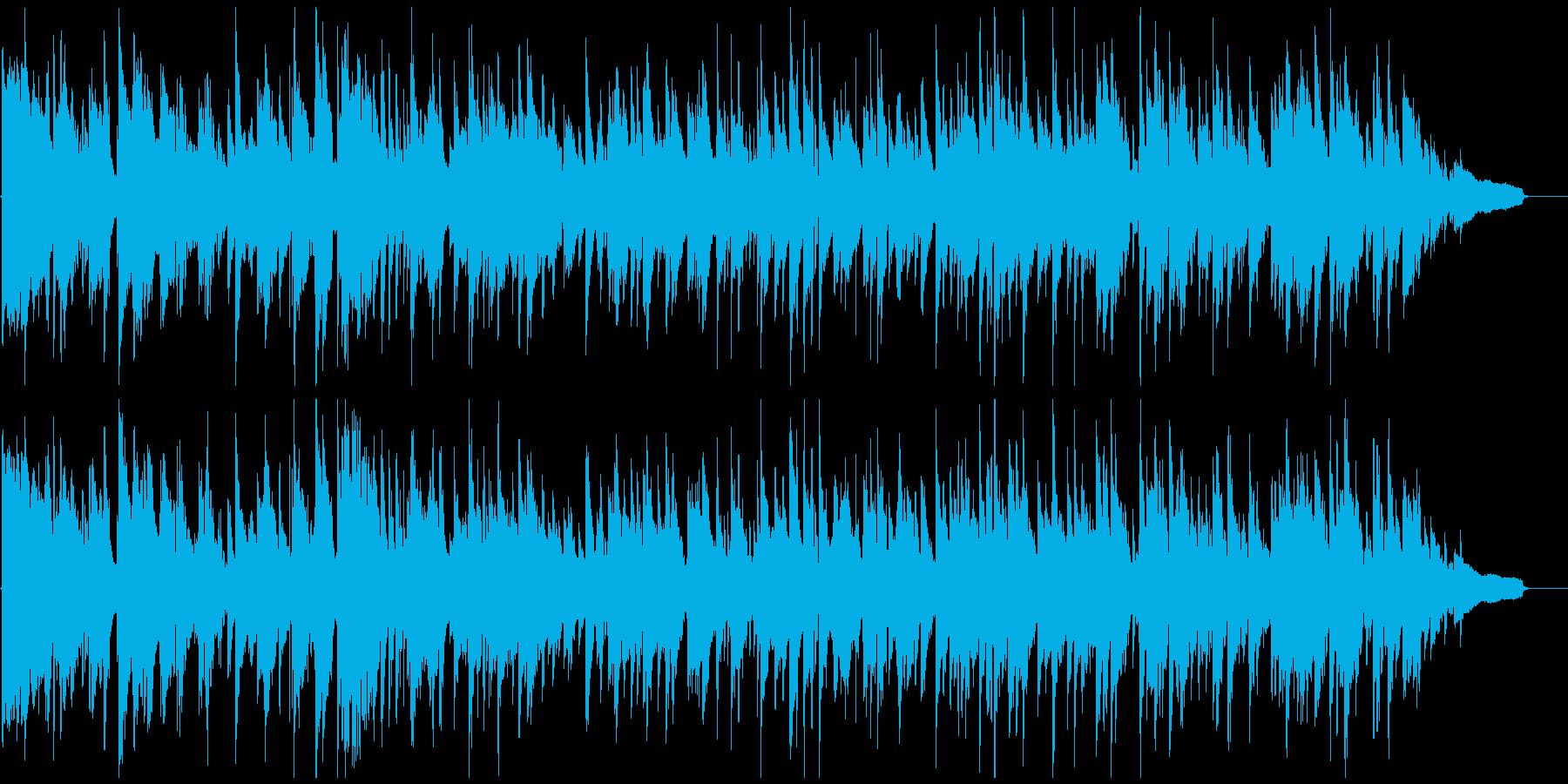 妖艶でエロいムードのセクシーなサックスの再生済みの波形