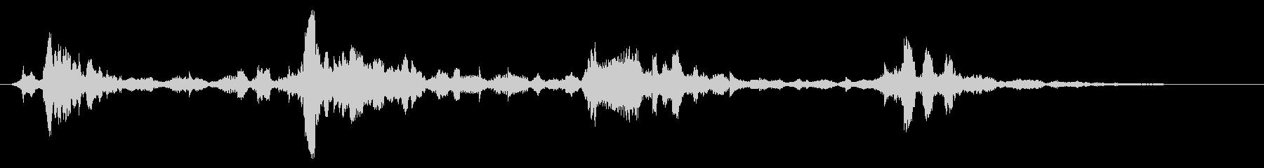 攻撃アタリ思考によるトーン変調の未再生の波形