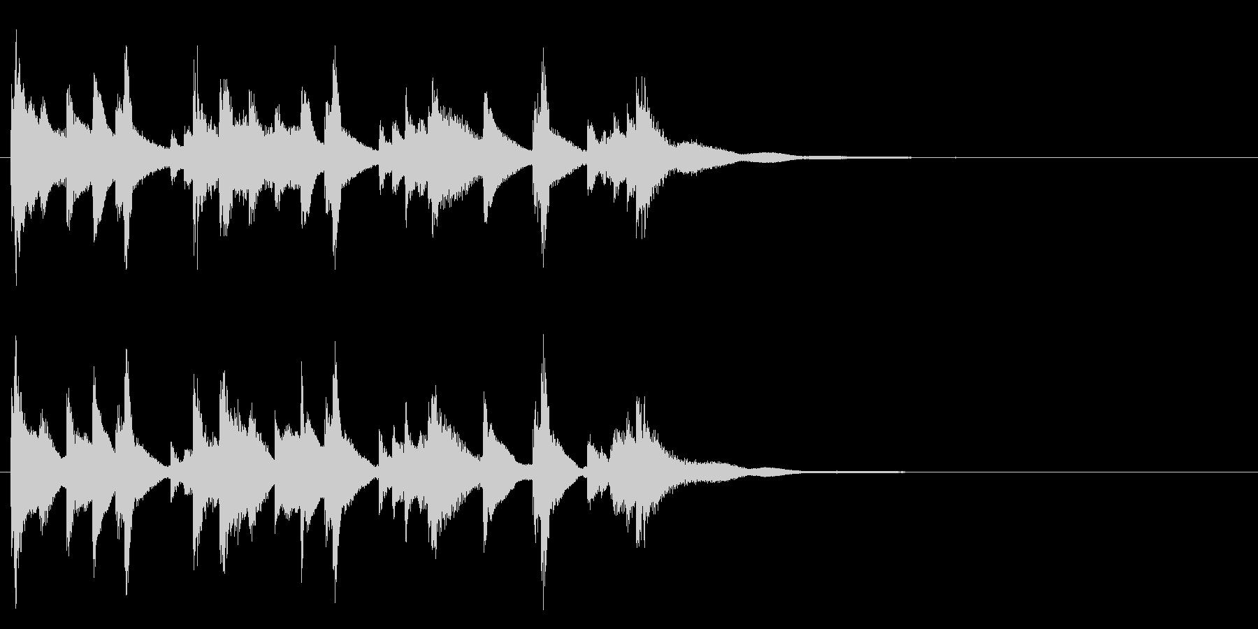 和風☆アイキャッチ4の未再生の波形