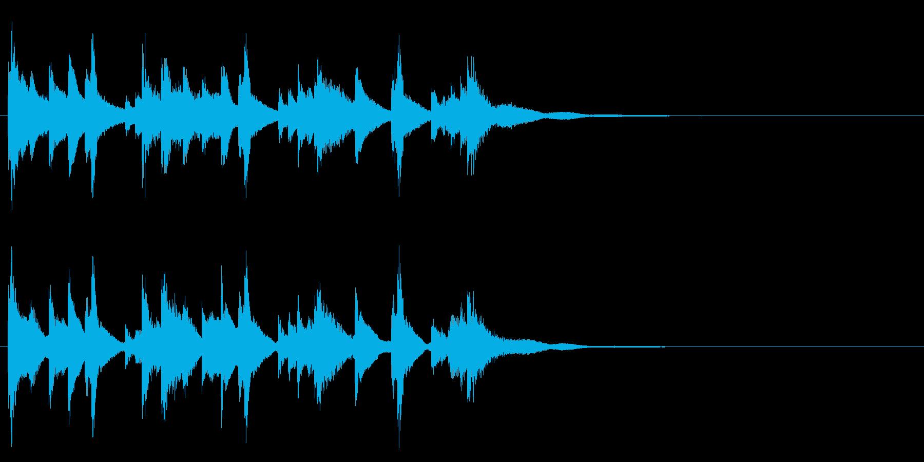 和風☆アイキャッチ4の再生済みの波形