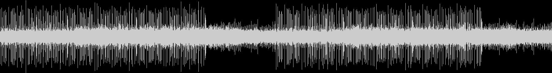 ループ:柔らかく勢いあるドラムンベースの未再生の波形