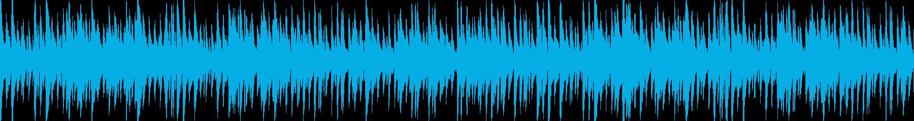 お洒落でキャッチーなジャズピアノトリオ3の再生済みの波形