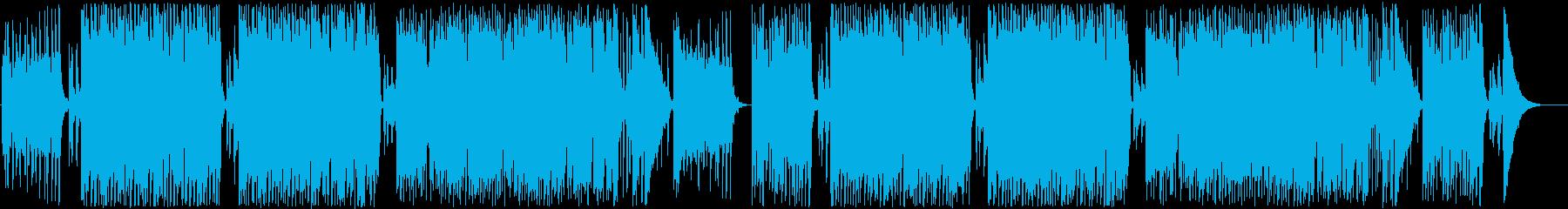 おしゃれでキュートなフレンチポップの再生済みの波形