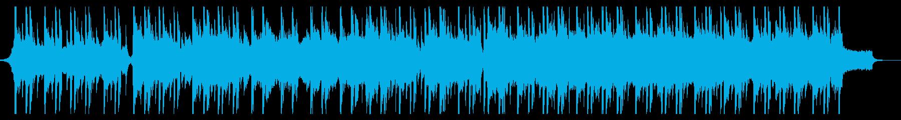 ダークでゆったりとしたヒップホップの再生済みの波形