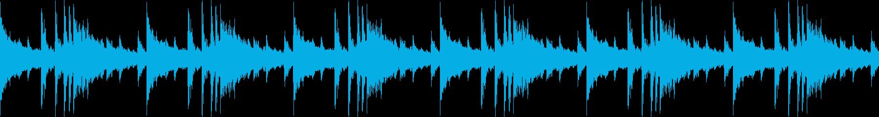 ガンスリンガーループの再生済みの波形