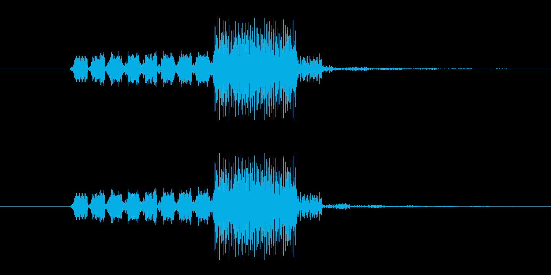 ファミコン風 敵に遭遇の再生済みの波形