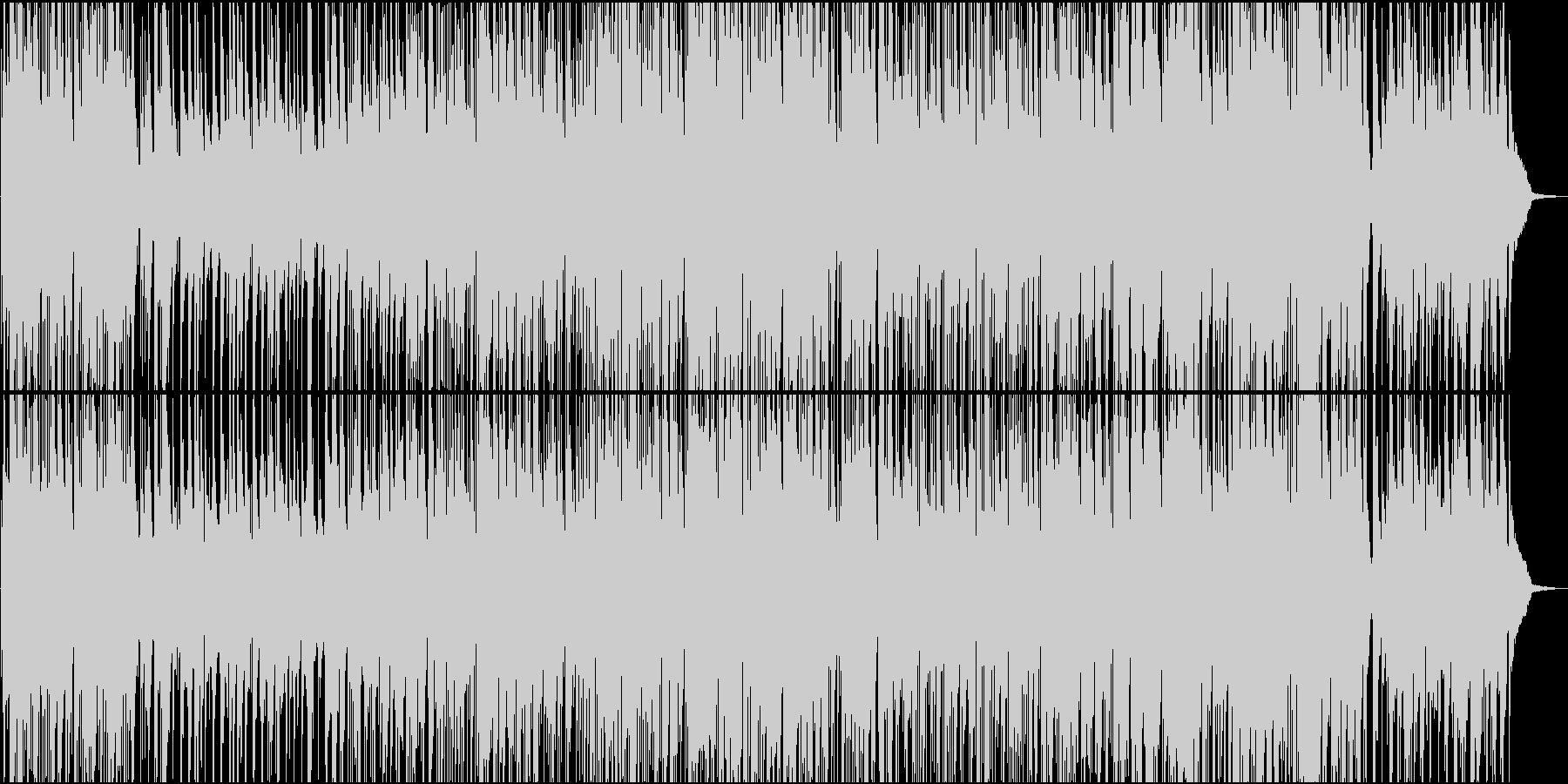 ゆったりした夜に合うサックス・ジャズの未再生の波形