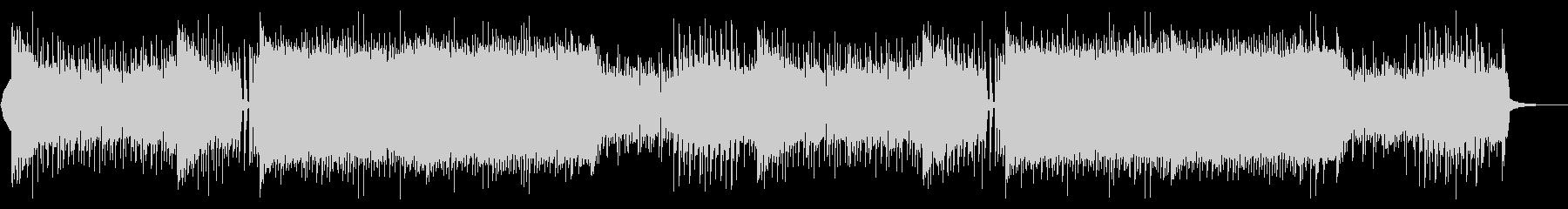 EDM アグレッシブ・盛り上がるの未再生の波形