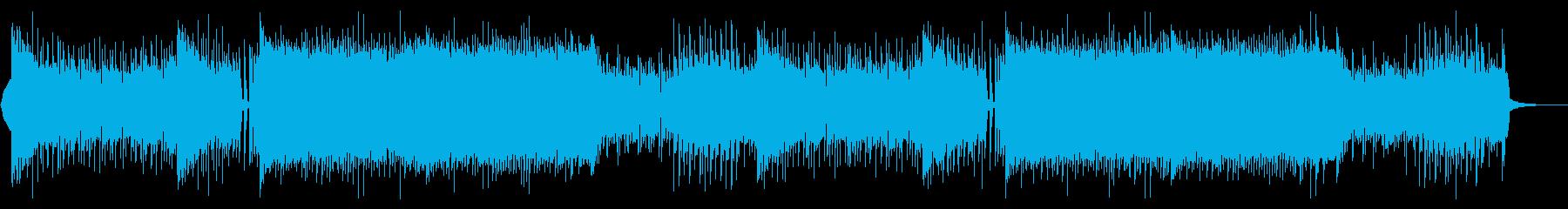 EDM アグレッシブ・盛り上がるの再生済みの波形