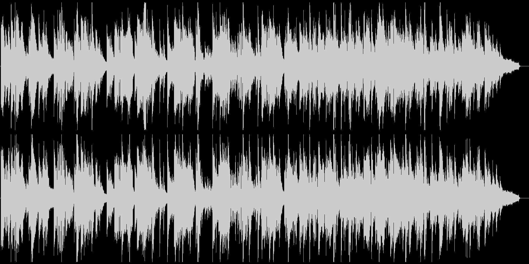 テナーサックス生演奏のラウンジ系バラードの未再生の波形