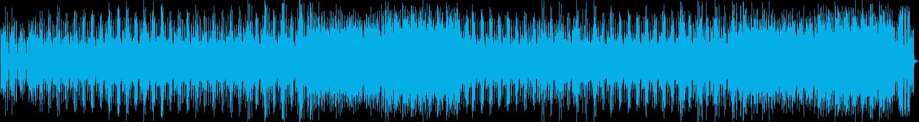 オシャレな雰囲気のインストの再生済みの波形