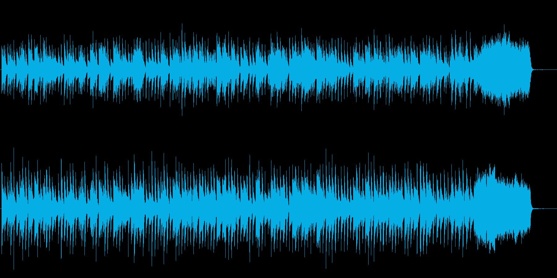 バッハ チェンバロ協奏曲 アリオーソ の再生済みの波形