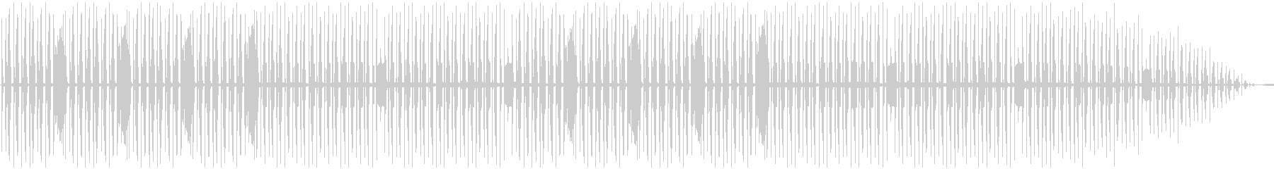 Comical and mysterious BGM's unreproduced waveform