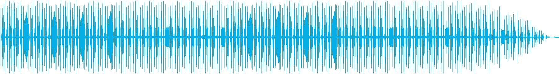 Comical and mysterious BGM's reproduced waveform