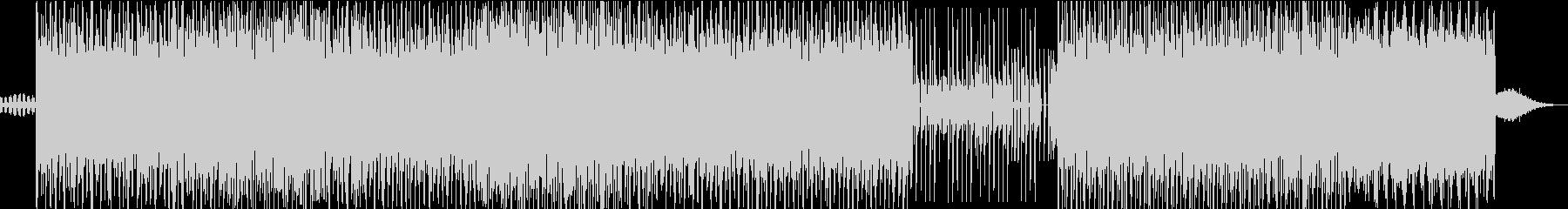 デジタルとレトロのエレクトロニカの未再生の波形