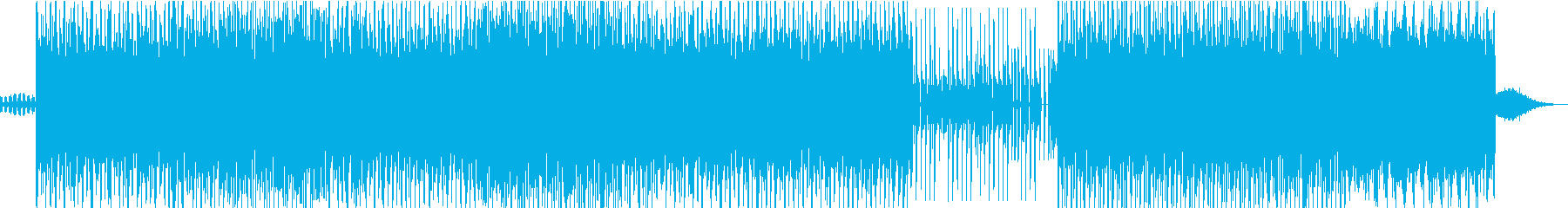 デジタルとレトロのエレクトロニカの再生済みの波形