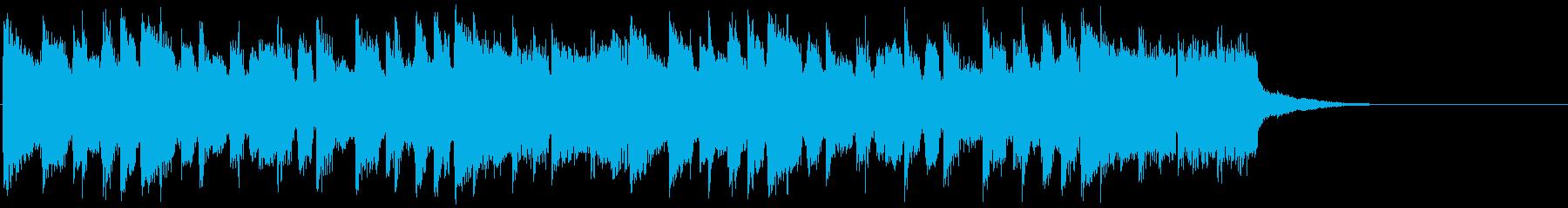 シティーポップ/ジングル01の再生済みの波形
