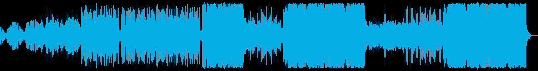 渦巻く決意のテクノ-トランス。強い...の再生済みの波形
