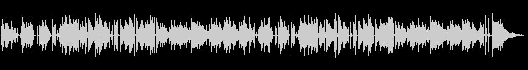 明るい・陽気・溌溂・ジャズ・ピアノソロの未再生の波形