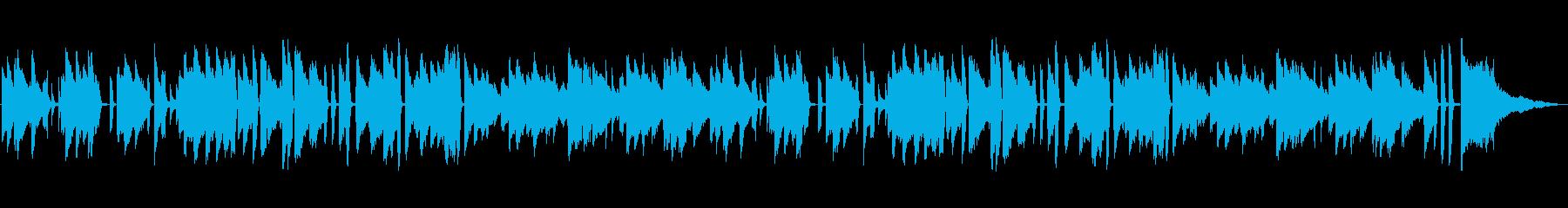 明るい・陽気・溌溂・ジャズ・ピアノソロの再生済みの波形
