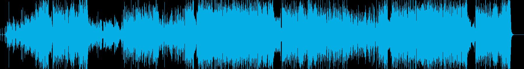 青空が似合う爽やかなアニソン曲の再生済みの波形