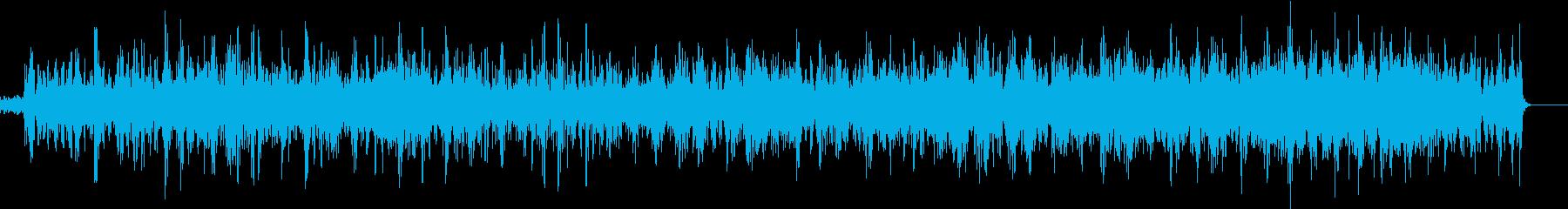 暗くうごめくような切ないサウンドの再生済みの波形