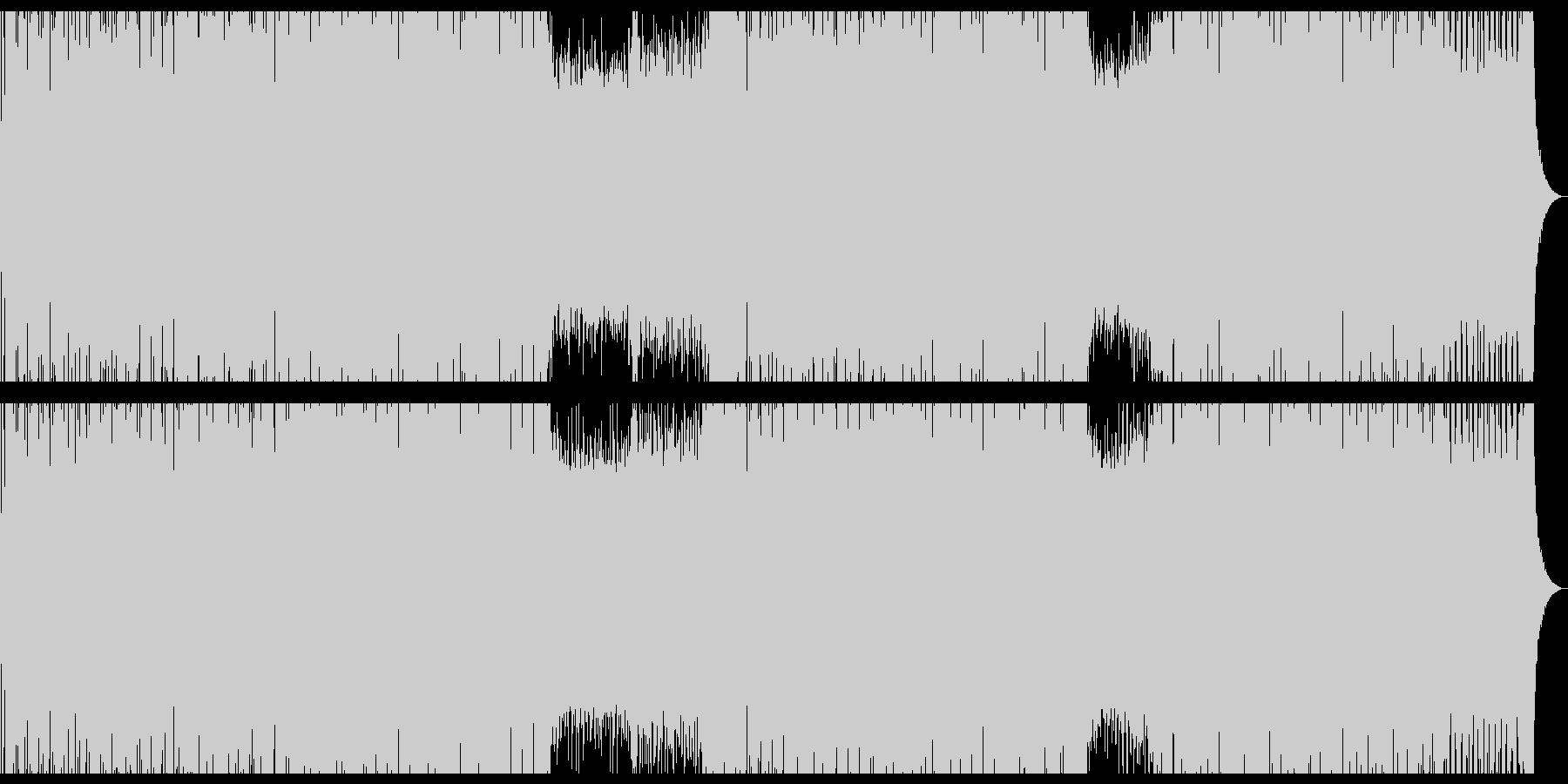 爽やかボサノバ風ハウスミュージック。の未再生の波形