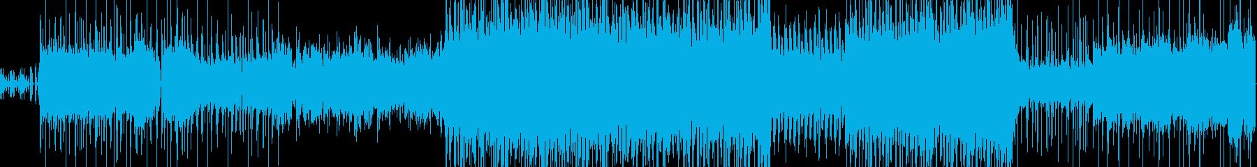 レーシングと爆発的な電子グルーブ。...の再生済みの波形