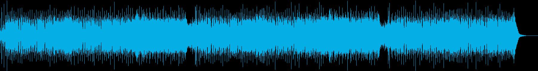 陽気で軽快なスカ・パンクの再生済みの波形