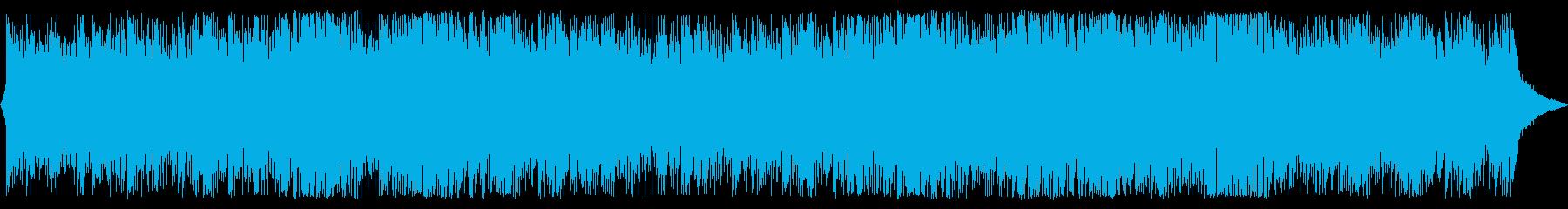 ピアノ&シンセのハイブリッド/クール系曲の再生済みの波形