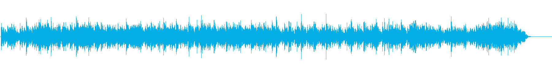 南米の三拍子のギターメインの民族音楽風の再生済みの波形