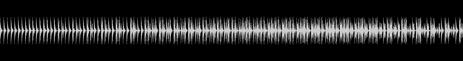 明るくポップなドラムループ、ポンッ03の未再生の波形