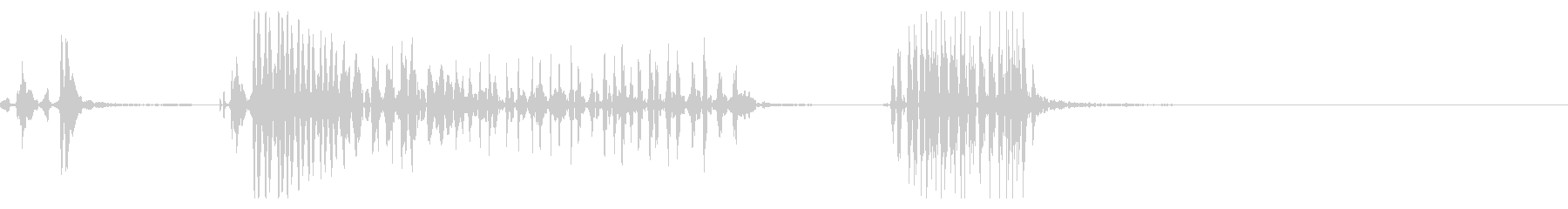 ジャー!ファスナー、チャックの音12の未再生の波形