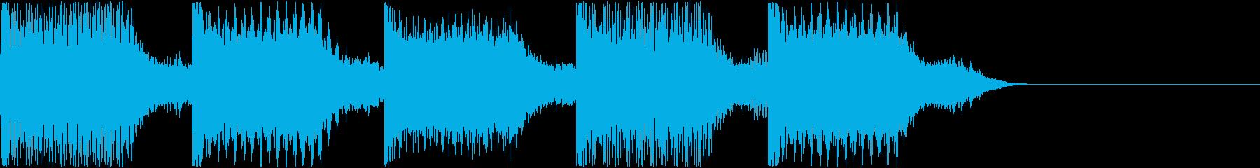 AI メカ/ロボ/マシン動作音 2の再生済みの波形