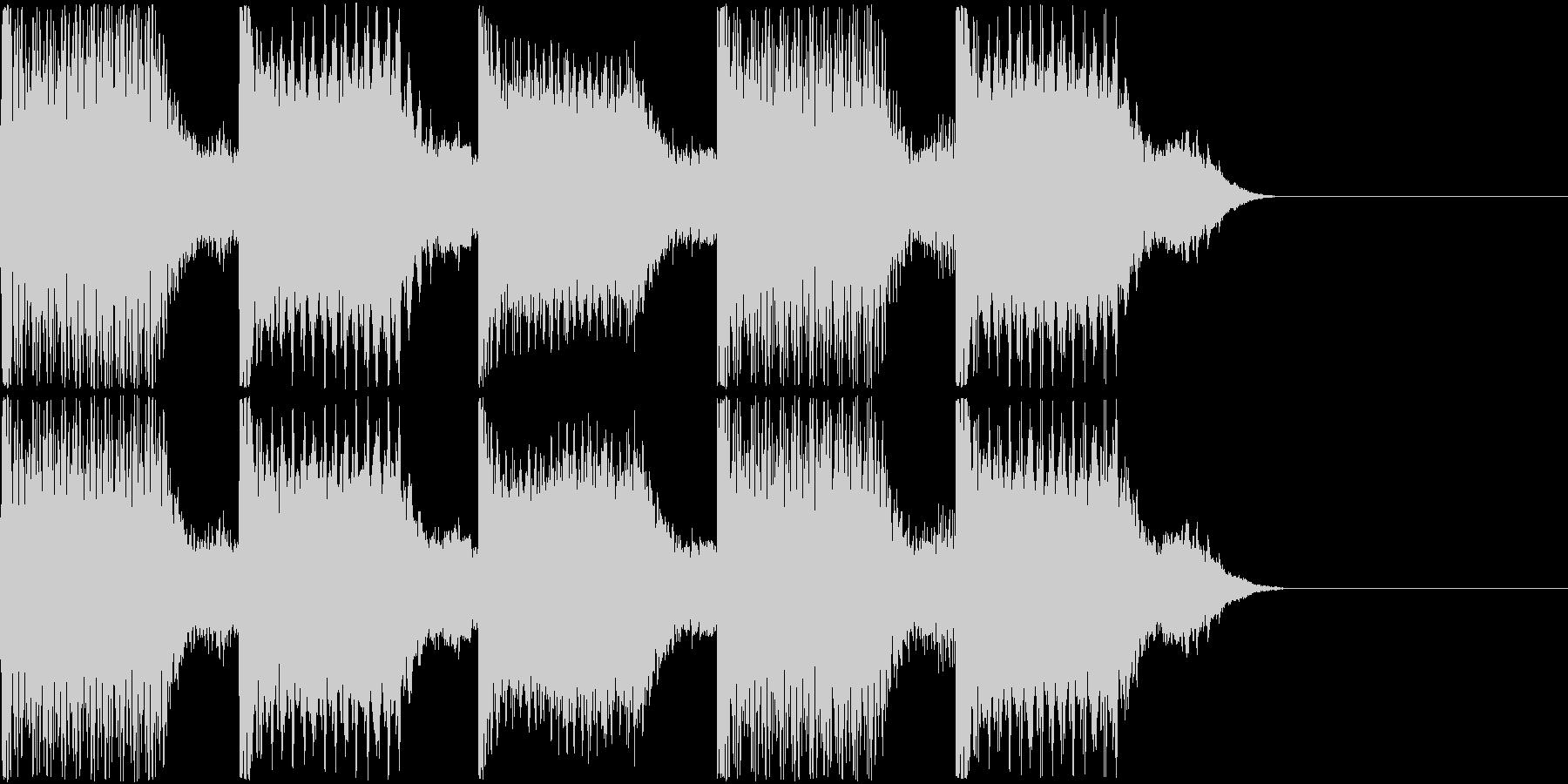 AI メカ/ロボ/マシン動作音 2の未再生の波形