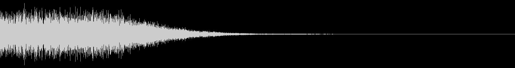 魔法的なアルペジオ 変身シーンの未再生の波形