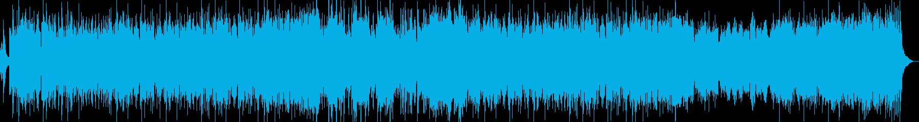 和風オーケストラ姫様京都旅曲の再生済みの波形