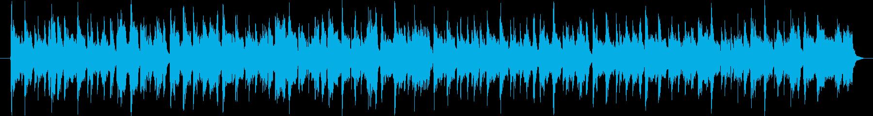 アップテンポ、おしゃれ、ラウンジハウスの再生済みの波形