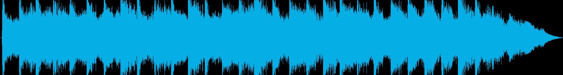 ジングル - クールダウンの再生済みの波形