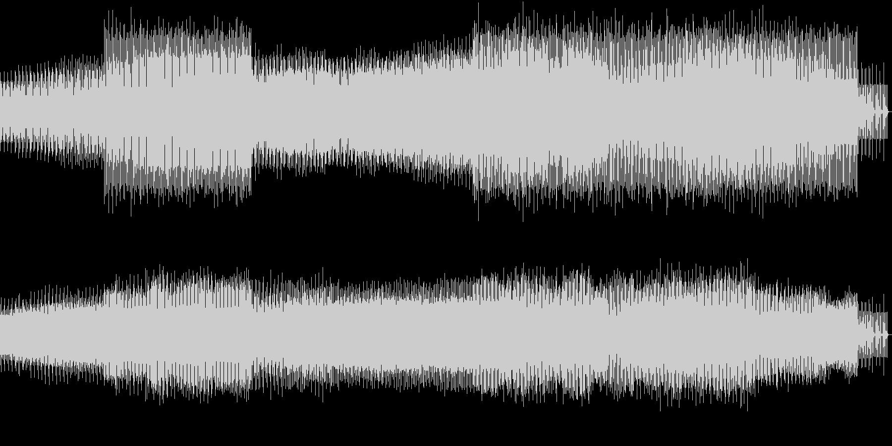 8ビット風味の楽しいEDMの未再生の波形