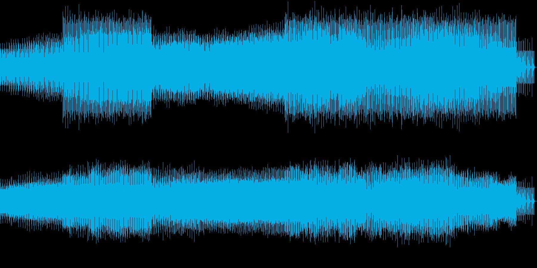 8ビット風味の楽しいEDMの再生済みの波形