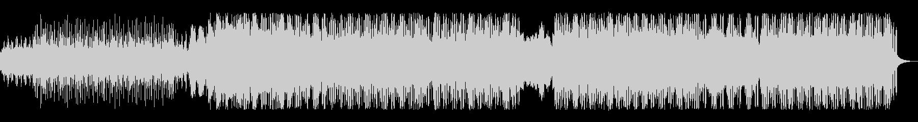 シンプルなミニマルポストロックの未再生の波形