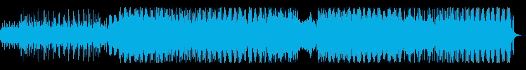 シンプルなミニマルポストロックの再生済みの波形