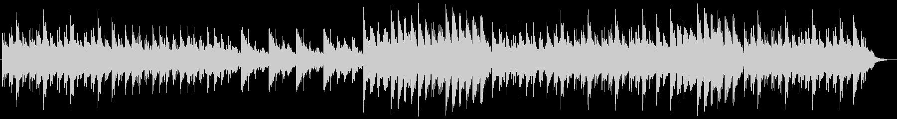 切なく感動的なピアノバラードの未再生の波形
