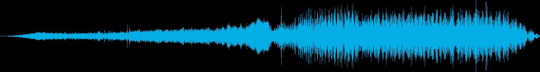 モンスタートラック:Ext:中速で...の再生済みの波形
