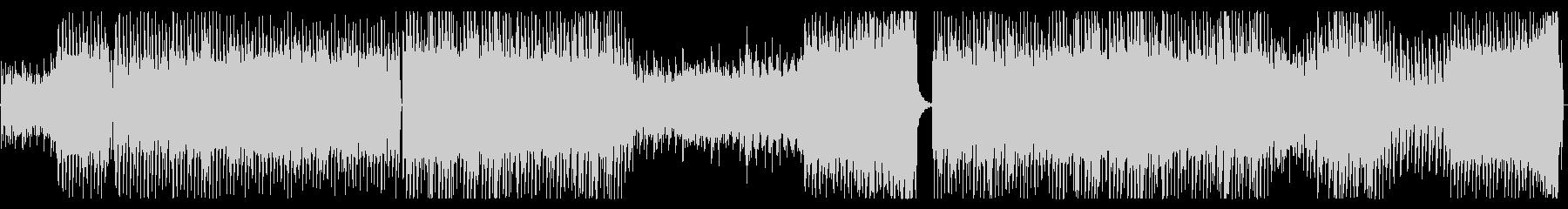 切ないトランス系ピアノEDMの未再生の波形