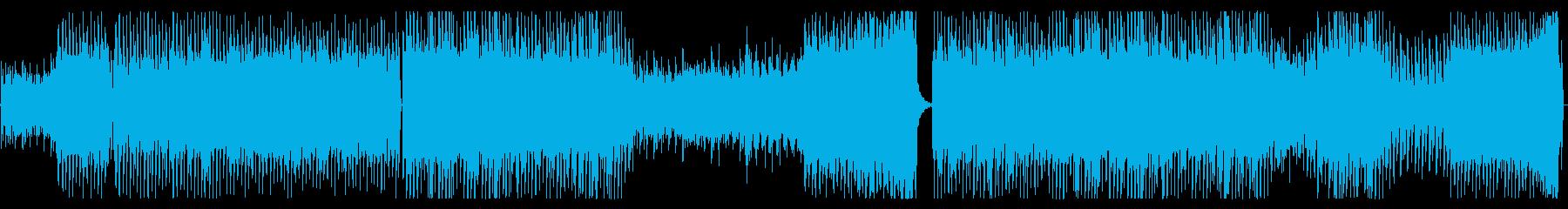 切ないトランス系ピアノEDMの再生済みの波形
