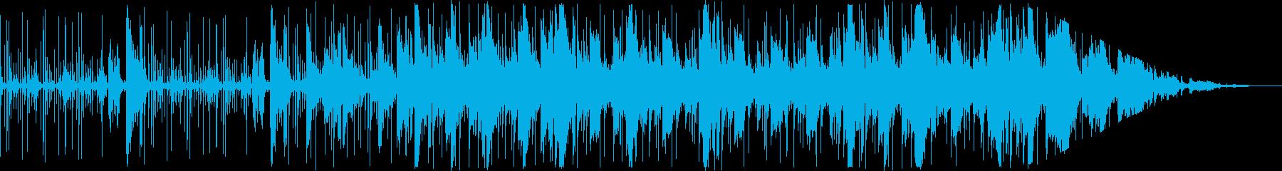 エレクトロニカ 切なげなギターと電子音の再生済みの波形
