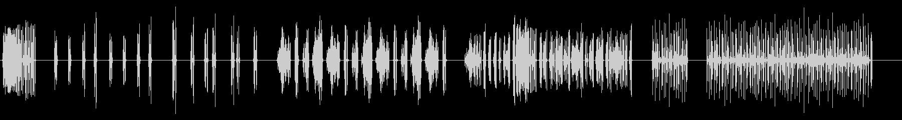 フロッグクロールフロッグオブビッグ...の未再生の波形
